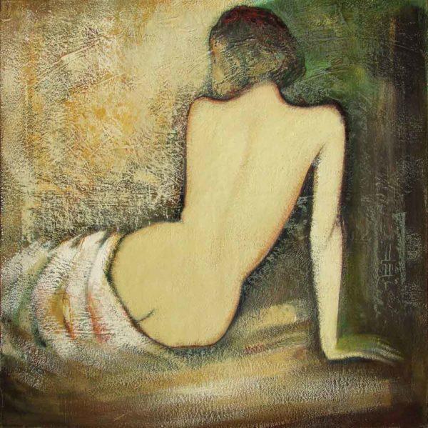 Анна, х.м., 85х85, 2006, частная коллекция