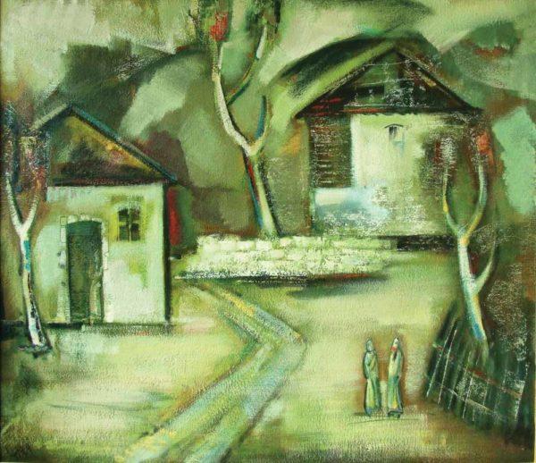 Дом моего отца, х.м., 90х110, 1976-79