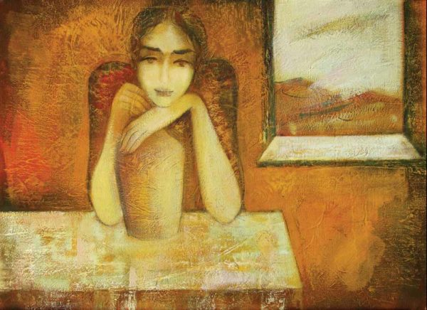 Irina, oil on canvas, 60×80, 1998