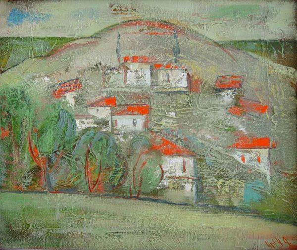 Korcula, oil on canvas, 50×60, 2000