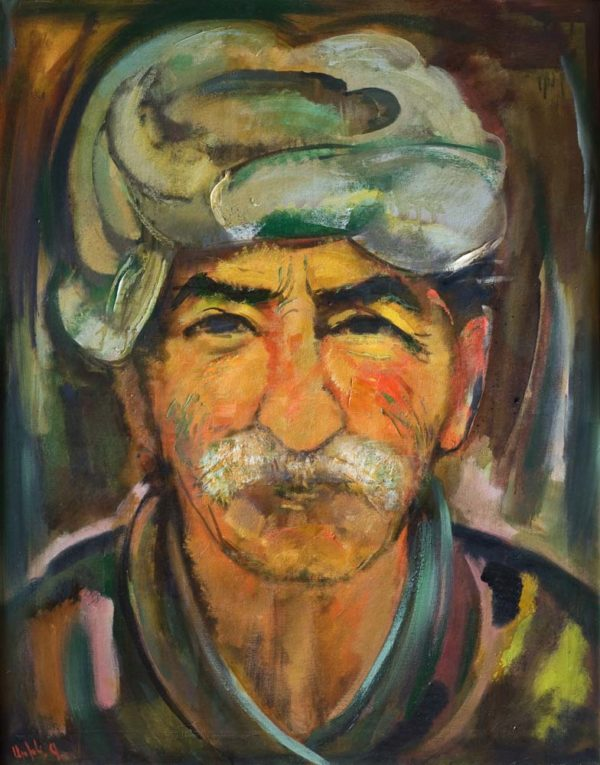 Peasant, oil on canvas, 100×80, 2004