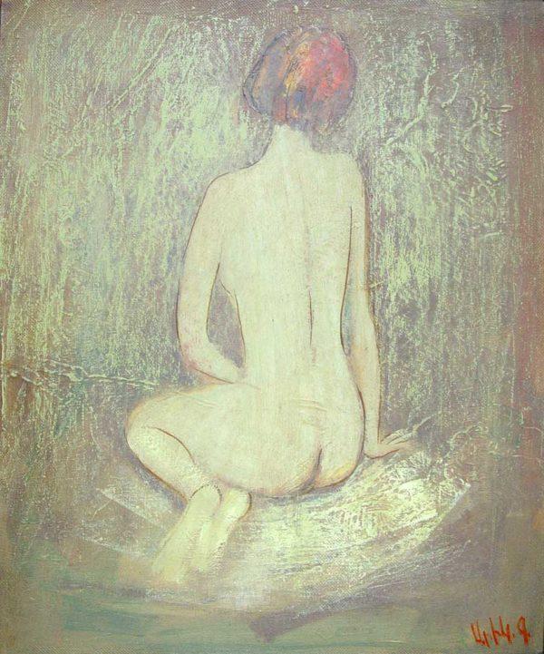 Liz, oil on canvas, 60×50, 2002
