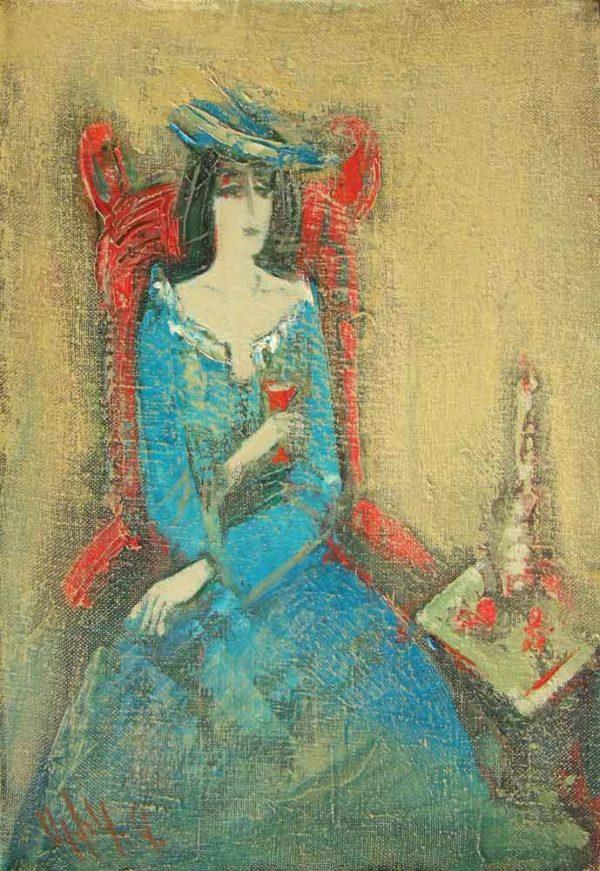 Меланхолия, х.м., 35х25, 2006