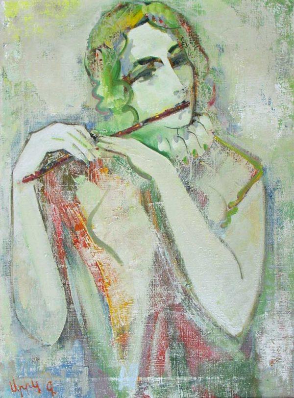 Мелодия, х.м., 73х53, 1994
