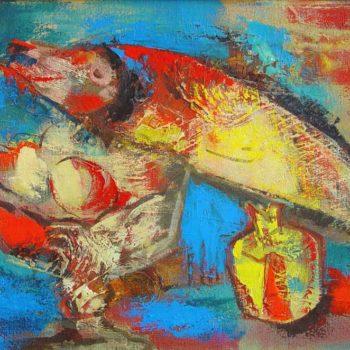 хм 40х60 01 350x350 - Still life, oil on canvas, 40x60, 2001