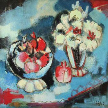т хм 80х85 2004 350x350 - Still life, oil on canvas, 80x85, 2004