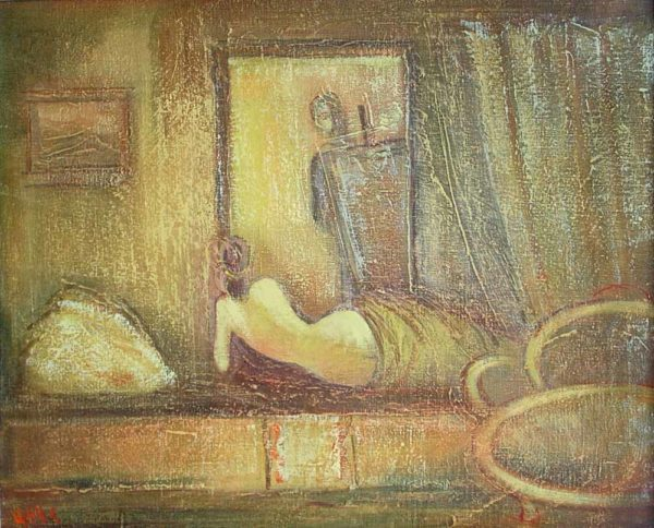 Image, oil on canvas, 48×60 1999