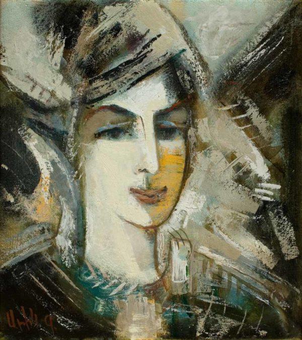 Портрет Ирины, х.м., 45х40, 2007
