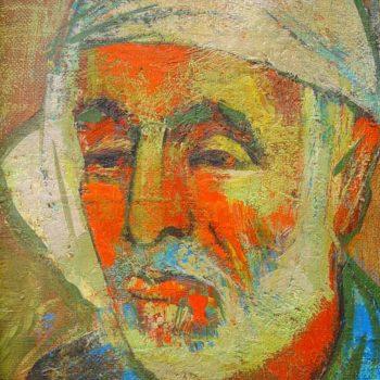 Мортироса хм 30х25 01 350x350 - Портрет Мартироса, х.м., 30х25, 2001