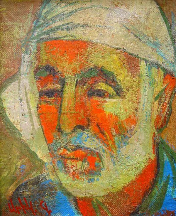 Портрет Мартироса, х.м., 30х25, 2001