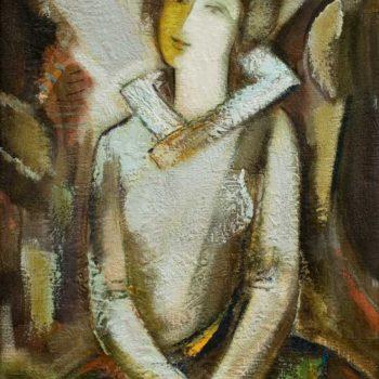 хм 78х51 1994 350x350 - Портрет, х.м., 78х51, 1994
