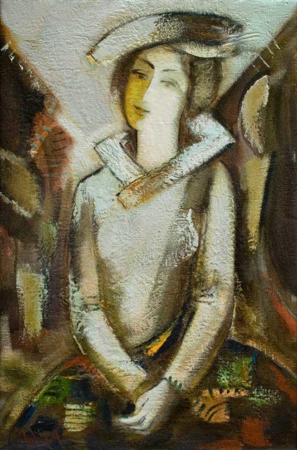 Портрет, х.м., 78х51, 1994