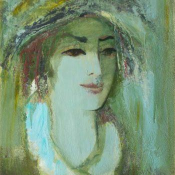 . Картон масло. 60х42. 1992 350x350 - Портрет, к.м., 60х42, 1992