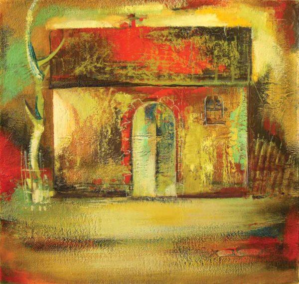 Светлый день, х.м., 60х60, 1998