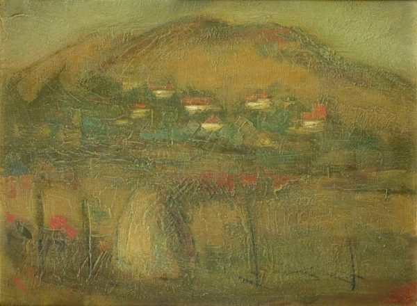 Rick, oil on canvas, 40×55, 2007