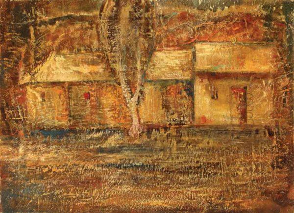 Сумерки, х.м., 50х70, 1991