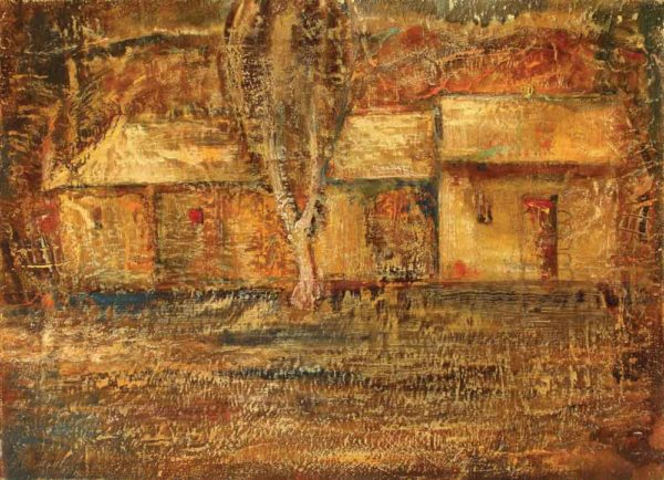 Twilight, oil on canvas, 50×70, 1991
