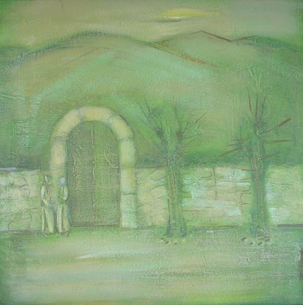 Тихое утро, х.м., 75х75, 1999, частная коллекция