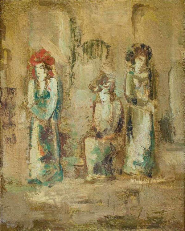 Actresses, 50х40, oil on canvas, 2008