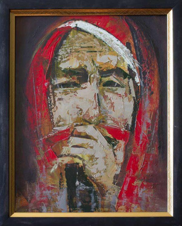 Sorrow, 40х30, oil on hardboard, 2014