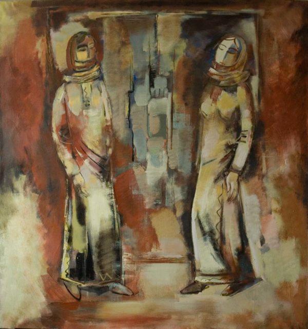 Женщины Арцаха, 140х130, х.м., 2008