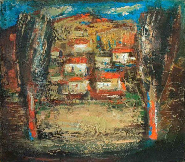 Millstones, 35х40, oil on canvas, 2007