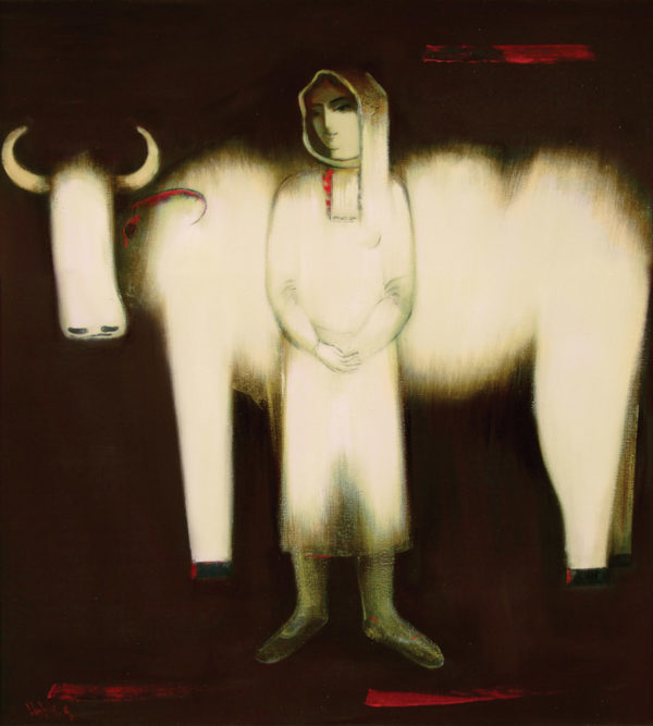 Nurse, 116х110, oil on canvas, 2001