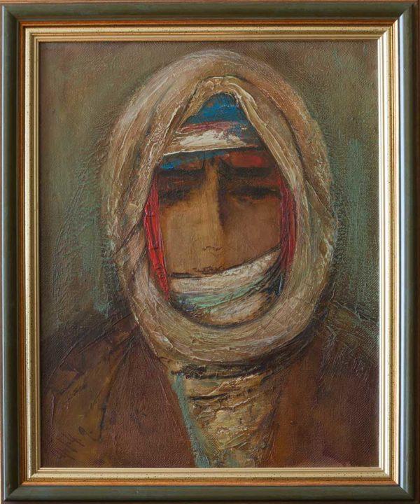 Курдянка, 45х35, х.м., 2005