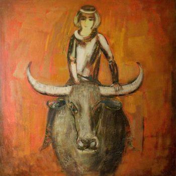 друг буйвол 2006 хм 150х140 1 350x350 - Мой друг буйвол, 150х140, х.м., 2006