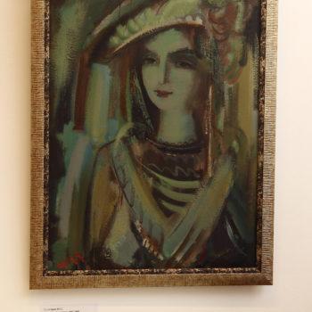 портрет 2007 2009 хм 350x350 - Навеянный портрет, 80х60, х.м., 2007-2009