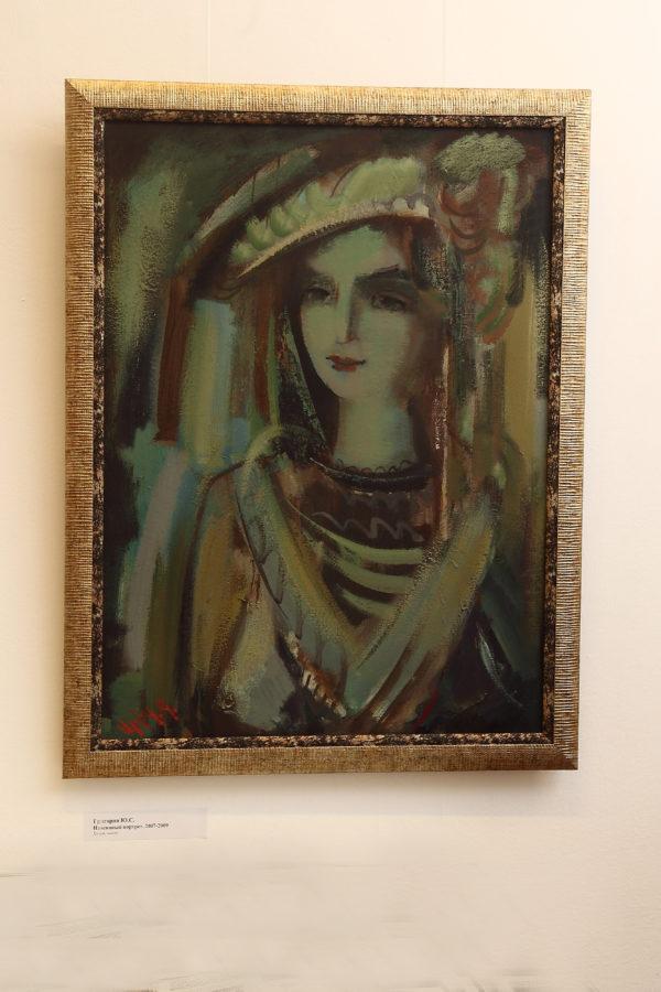 Навеянный портрет, 80х60, х.м., 2007-2009