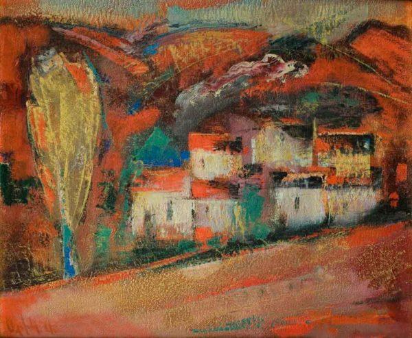Пейзаж, 50х60, х.м., 2001