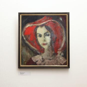 Наиры 2016 хм 350x350 - Naira's portrait, 55х55, oil on canvas, 2016