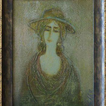 2000 х.м. 35х25 350x350 - Portrait, 35х25, oil on canvas, 2000