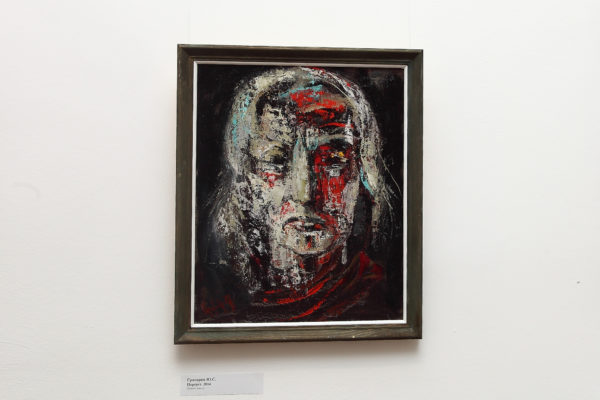 Portrait, 50х40, oil on hardboard, 2014