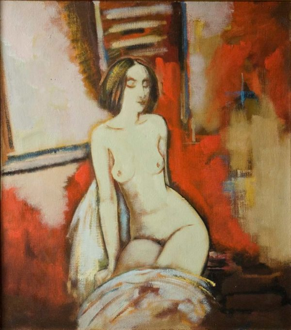 By the window, 85х75, oil on canvas, 2005