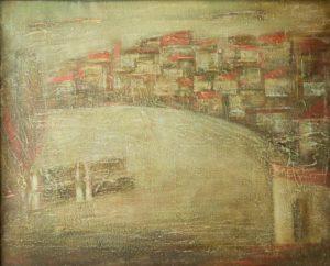 Херхан 80х100 х.м. 1991 1 300x242 - Деревня Херхан 80х100, х.м., 1991