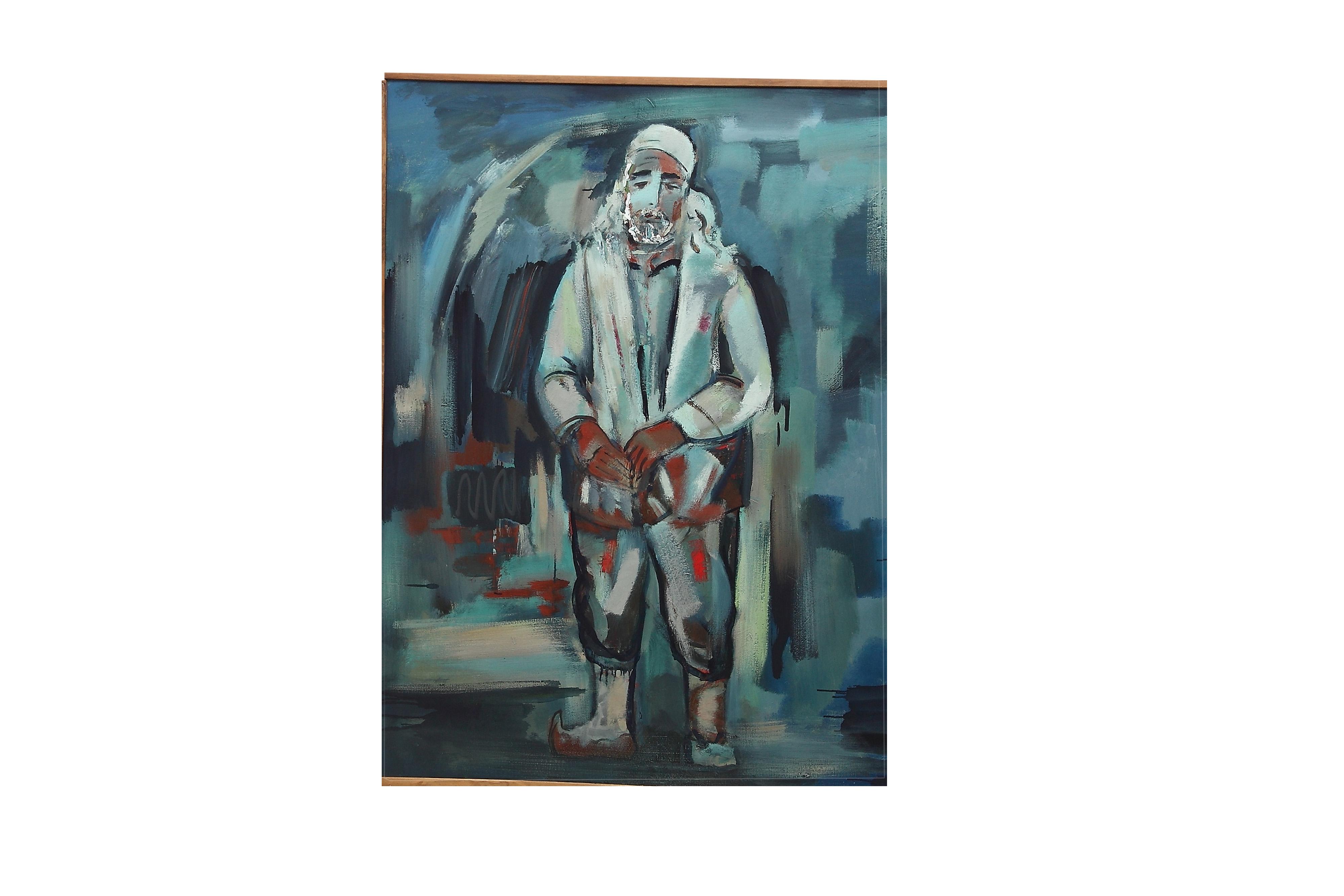 120х100 х.м. 2011 - Mnatsakan, 120x100, oil on canvas, 2011