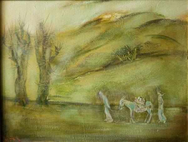 My Land, 60×80, oil on canvas, 1994