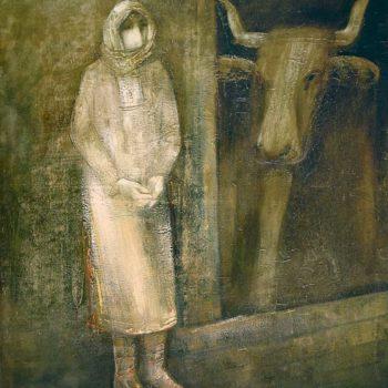 хм 120х100 96 350x350 - Recollection, oil on canvas, 120x100, 1996