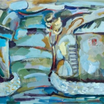 """пейзаж. Холст масло. 100х110. 2010 350x350 - <b>Выставка """"Диалог с отцом""""</b><br/>С 1 по 29 февраля 2020 в выставочном пространстве «ART Коробка»"""