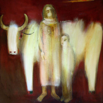 хм 116х100 94 350x350 - Nurse, oil on canvas, 116x100, 1994