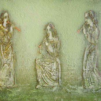 хм 33х40 01 350x350 - Melody, oil on canvas, 33x40 2001