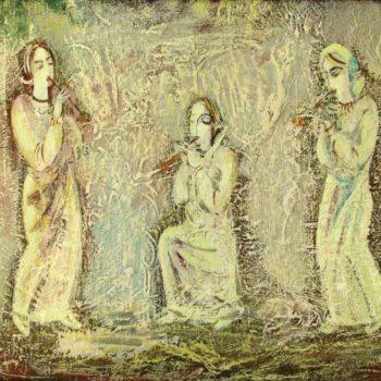 хм 50х64 1999 2004 350x350 - Melody, oil on canvas, 50x64, 1999-2004