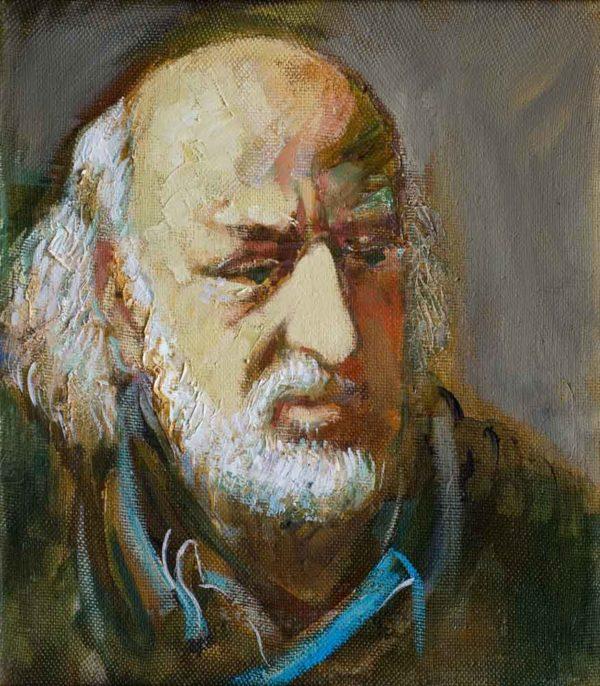 Альберта. Холст масло. 40х35 600x686 - Portraits