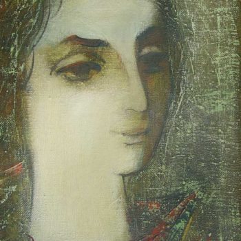 Жанны хм 50х30 87 350x350 - Portrait of Jeanne, oil on canvas, 50x30, 1987, private collection
