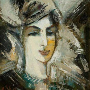 Ирины хм 45х40 2007 350x350 - Портрет Ирины, х.м., 45х40, 2007