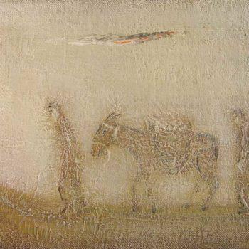 хм 30х40 99 350x350 - The travelers, oil on canvas, 30x40, 1999