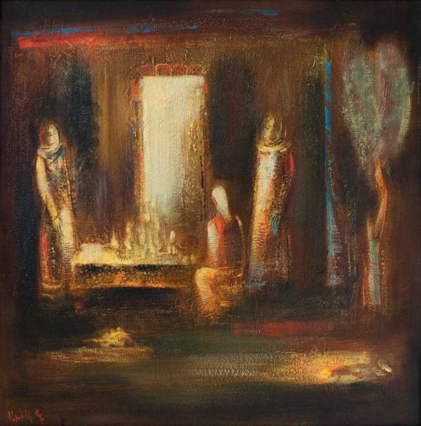 . Холст масло. 80х80.2008 1 600x607 - Жанровые сцены