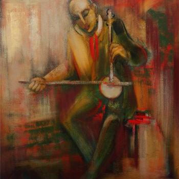 мелодия 2012 хм 1 3 350x350 - Different melody, 110х100, oil on canvas, 2012
